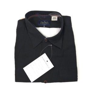 Nat Nast Mens Shirt Button Front  Short Sleeve